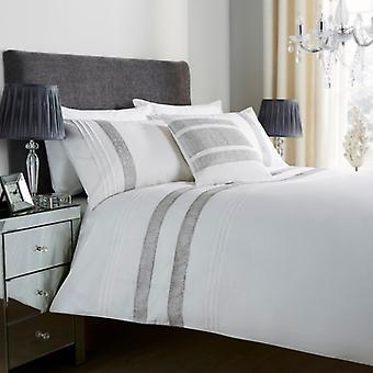 Glitz Diamante blonder dyne dækker sengetøj sæt alle størrelser