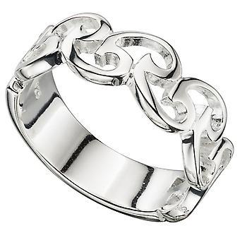 Модная 925 серебряное кольцо