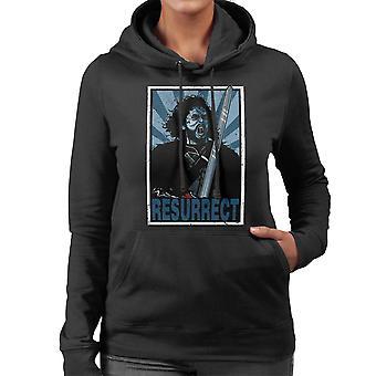 Resurrect Jon Snow Zombie Game Of Thrones Women's Hooded Sweatshirt