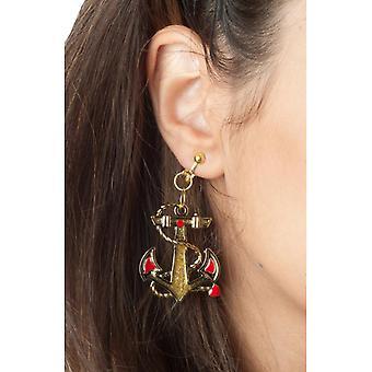 Kolczyki Biżuteria i korony kobieta marynarz