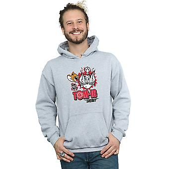 Tom And Jerry Men's Tomic Energy Hoodie