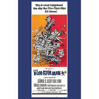 Cartaz de filme de homem de flim-Flam (11 x 17)