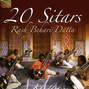Rash Behari Datta - 20 import de USA de sitares [CD]