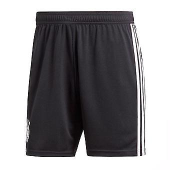 2018-2019 Deutschland Home Shorts Adidas Fußball (schwarz)