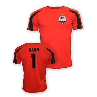 Olivier Kahn FC Bayern München Sport Training Jersey (rot)