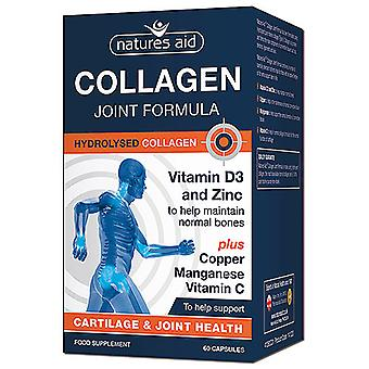 Natures Aid Collagen Joint Formula, 60 Capsules