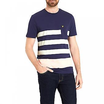 Lyle & Scott Lyle & Scott Mens Wide Stripe T-Shirt