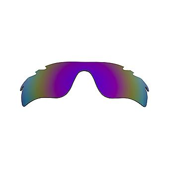 Polarized Replacement Lenses for Oakley Vented Radarlock Path Sunglasses Purple Anti-Scratch Anti-Glare UV400 SeekOptics