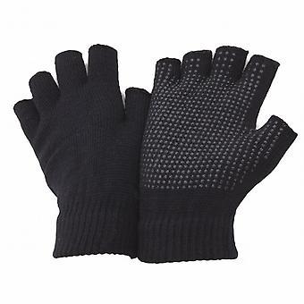 FLOSO Unisex vingerloze Magic handschoenen met Grip