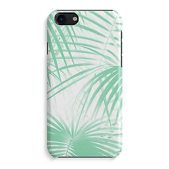 iPhone 7 pełny głowiczki (błyszcząca) - liści palmowych