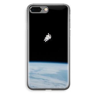 iPhone 8 Plus Transparant Fall (Soft) - allein im Raum