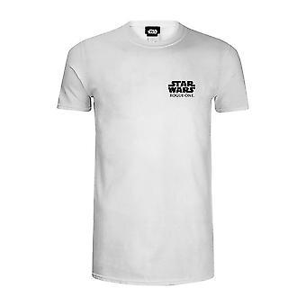 Star Wars Rogue én officielle Logo venstre bryst T-Shirt