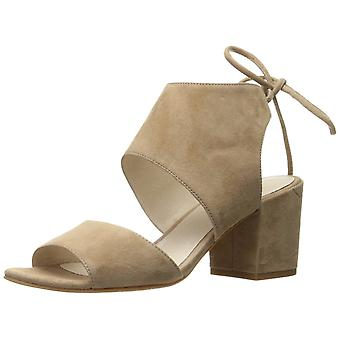 Kenneth Cole New York naisten Vito nahka avoin kärki rento nilkka hihna sandaalit