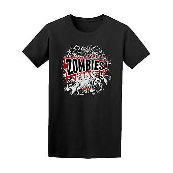 Comic Book Zombies! Graphic Tee - Image by Shutterstock