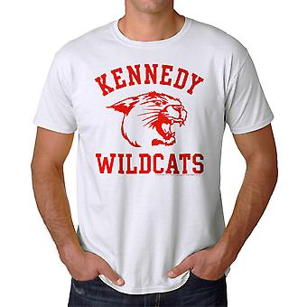 The Wonder Years Kennedy Wildcats Men's White T-shirt