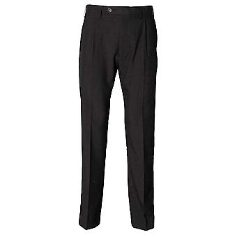 Henbury Mens Polyester pli unique pantalon décontracté