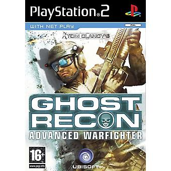 Tom Clancys Ghost Recon Advanced Warfighter (PS2)-fabriken förseglad