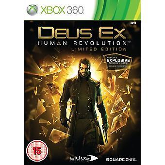 Deus Ex Human Revolution - Limited Edition (Xbox 360) - New