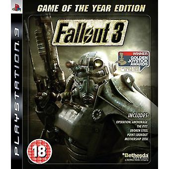 Fallout 3 - Game Of The Year Edition (PS3) - Nouveau