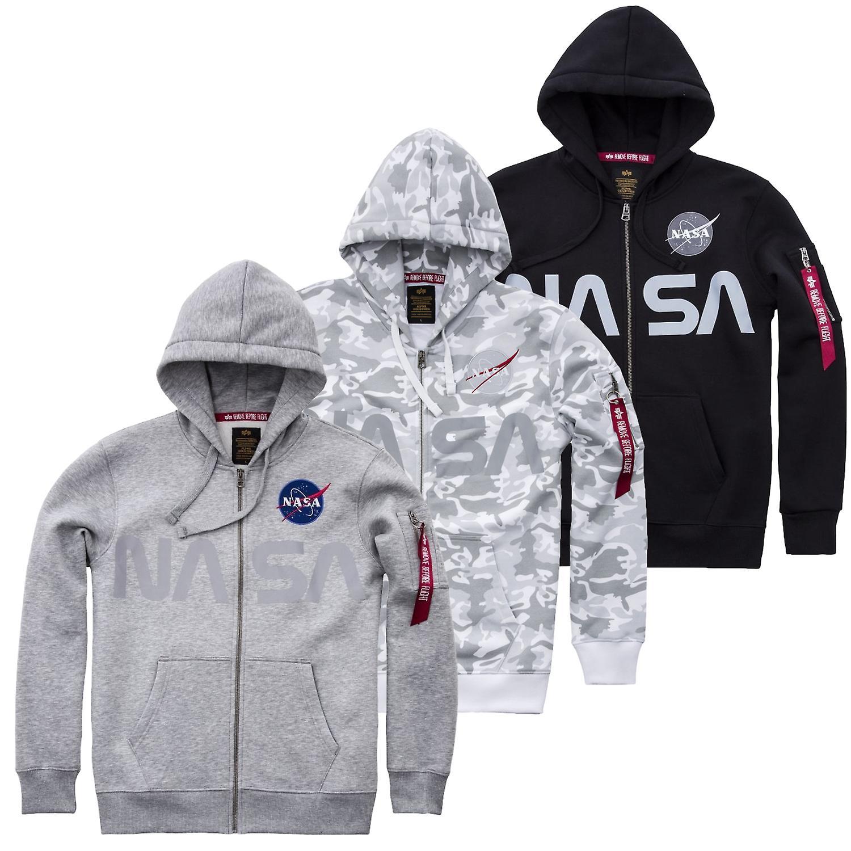 Alpha industries Zip Hoodie NASA