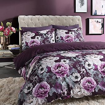 Pieridae Inky Floral Duvet Cover Quilt Cover Bedding Set