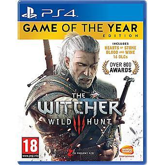 年版 PS4 のウィッチャー 3 ゲーム