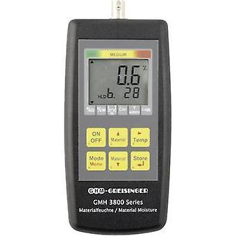 Greisinger GMH3851 Medidor de umidade Edifício faixa de leitura de umidade 0 até 0,5 vol% Faixa de leitura de umidade de madeira 0 até 100 vol% Leitura de temperatura