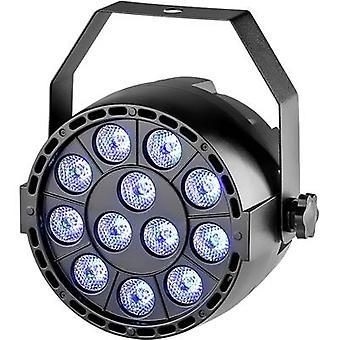 Renkforce LV-PT12 LED PAR etappe spotlight Nee. voor LEDs: 12 x 1,5 W Black