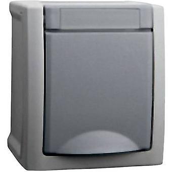VIKO Wet room switch product range PG socket Pacific Grey 90591008-DE
