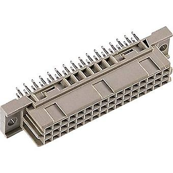 Edge connector (receptacle) 104-90075 Total number of pins 48 No. of rows 3 ept 1 pc(s)
