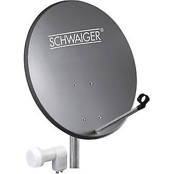 Schwaiger SPI5501SET2 SAT systeem w/o ontvanger aantal deelnemers 2