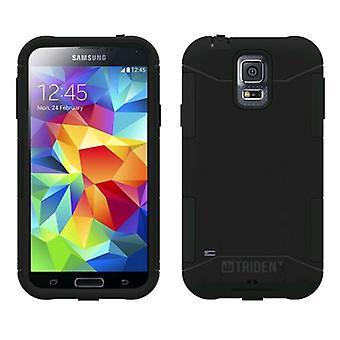 Trident Aegis Case for Samsung Galaxy S5 (Black/Black)