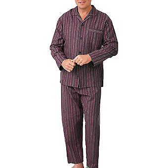 Uusi Miesten CHAMPION Wyncette Harjattu Puuvilla Pyjama yöasut lounge käyttää Viini 2XL