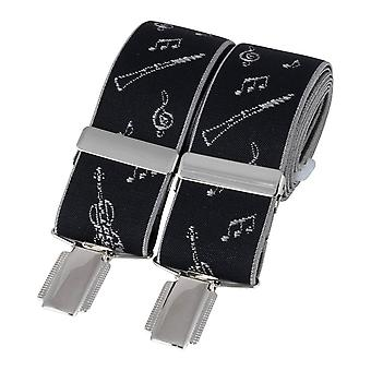 David Van Hagen Instruments Braces - Black