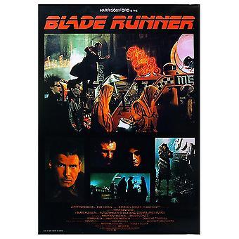 Blade Runner plakat collage 90 x 64 cm