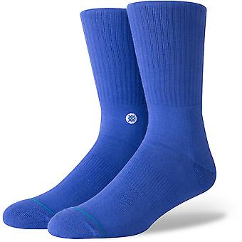 Stance Icon Crew Socks in Royal