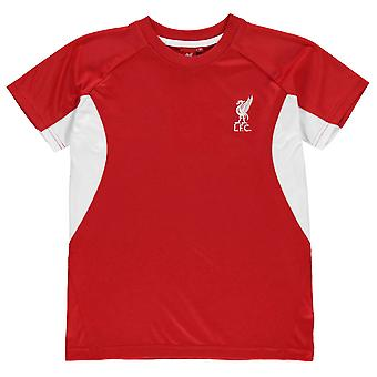 Source Lab Kids Boys Liverpool FC T Shirt Junior Short Sleeve Performance Tee