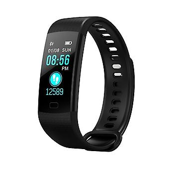 Y5 multifunctional activity bracelet with color screen-black