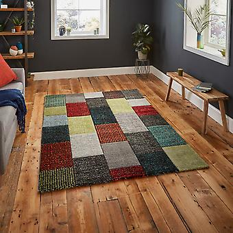 Brooklyn Rugs 21830 In Grey And Multicolours