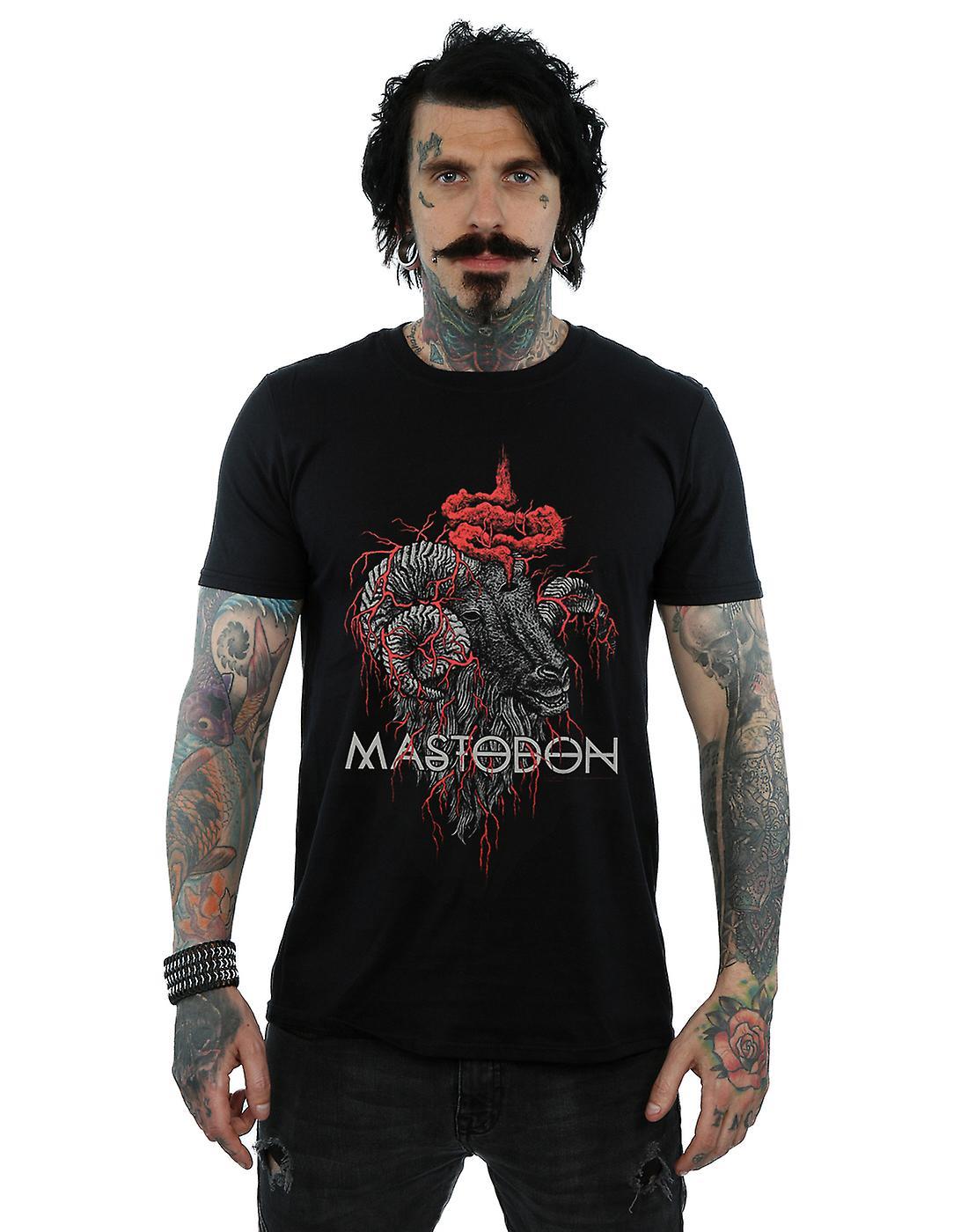 Mastodon Men's Rams Head Colour T-Shirt
