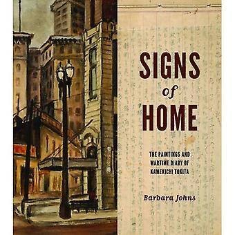 Tekenen van Home: de schilderijen en de oorlogstijd dagboek van Kamekichi Tokita