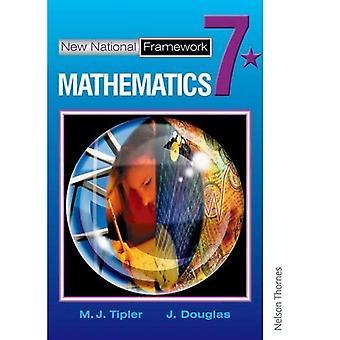 Nouveau cadre National mathématiques 7 * livre des élèves: 7 étoiles