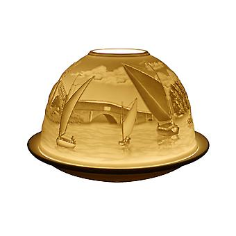Light Glow Dome Tea Light Holder, The Broads