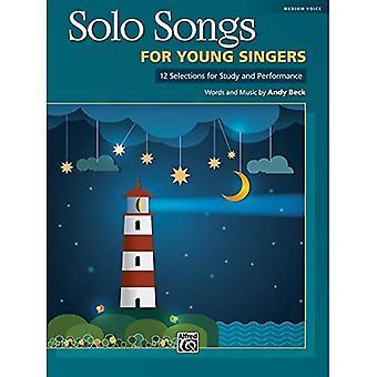 Solo utwory dla młodych śpiewaków: 12 wybór studiów i wydajności dla Mediym głos