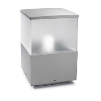 Cubik små utomhus pollare grå - lysdioder-C4 10-9386-34-M3