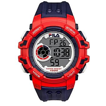 FILA homme montre silicone de montre-bracelet numérique sport 38-188-001