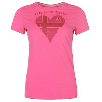 Odlo Womens Signo T Shirt Short Sleeve Performance Tee Top Crew Neck