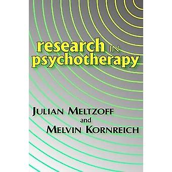 Research in Psychotherapy by Kornreich & Melvin