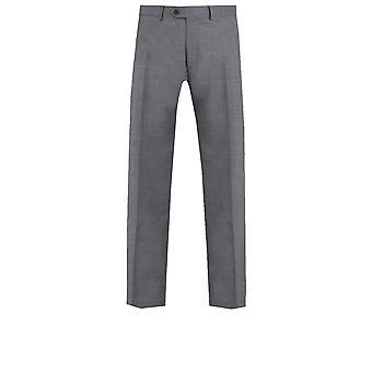 多贝尔男装灰色鲨鱼皮西装裤定制适合