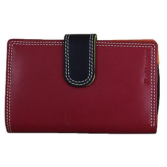 Rallegra petit sac à main RFID - rouge/noir/Orange